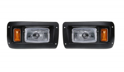 DS Halogen Headlights Set Assembly
