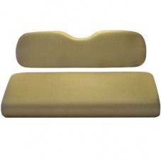 Rear Seat Cushion Buff color for Golf Cart